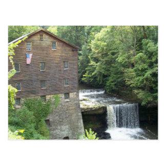 El molino viejo en las caídas de Lanterman Postal