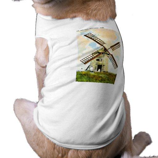 El molino viejo, Nantucket, Massachusetts Camiseta De Perrito