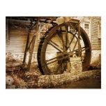 El molino viejo postal