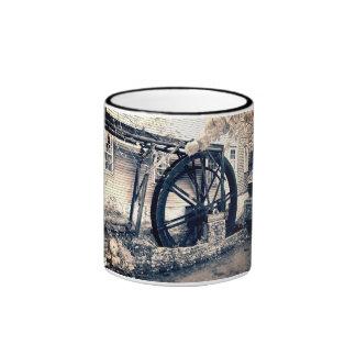 El molino viejo taza de dos colores