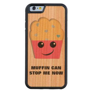 El mollete puede pararme funda de iPhone 6 bumper cerezo