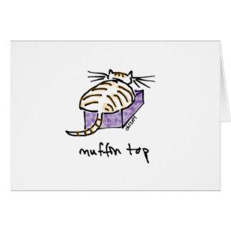 El mollete Top Cat carda Tarjetón
