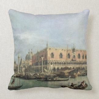 El Molo y el Piazzetta San Marco, Venecia (aceite Cojin