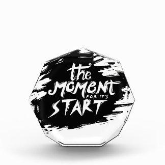 El momento para su comienzo