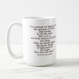 El momento que comenzamos a temer las opiniones de taza de café