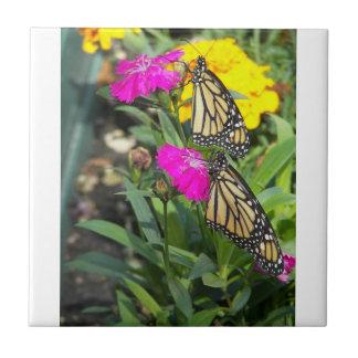 El monarca hermana #2-tile azulejo cuadrado pequeño