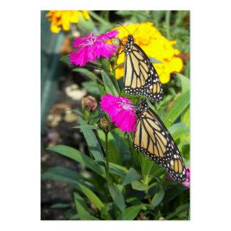 El monarca hermana tarjetas de #2-profile tarjetas de visita grandes