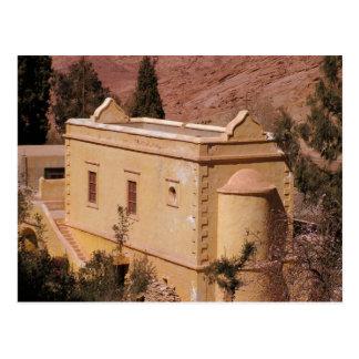 El monasterio de Catherine del santo Postal