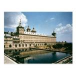 El monasterio de Escorial Tarjetas Postales