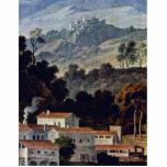 El monasterio de San Francisco en la Sabine Mts ce Escultura Fotográfica