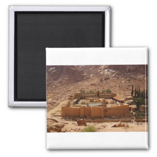 El monasterio Sinaí Egipto de Catherine antigua Imán Cuadrado