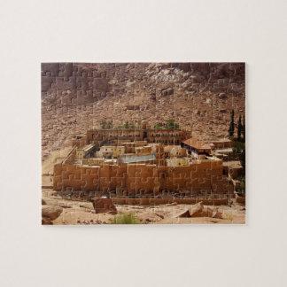 El monasterio Sinaí Egipto de Catherine antigua Puzzles Con Fotos