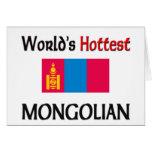 El Mongolian más caliente del mundo Tarjeta De Felicitación