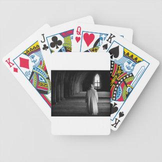 El monje #2 barajas de cartas