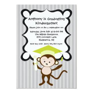El Monkeying alrededor embroma la invitación de la