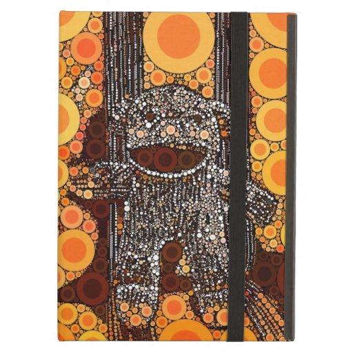 El mono anaranjado enrrollado del calcetín circund