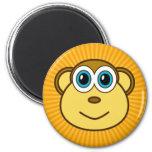 El mono Bizness hace frente a diseño Imán Para Frigorífico