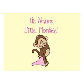 El mono de Nana - camisetas y regalos rosados Postales