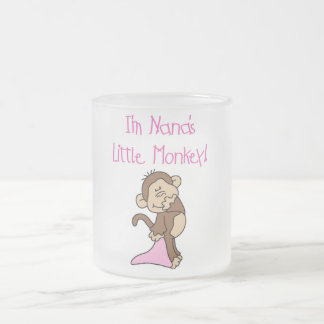 El mono de Nana - camisetas y regalos rosados Tazas De Café