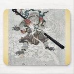 El mono de viajes al oeste por Kubo, Shunman Alfombrilla De Ratón