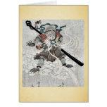 El mono de viajes al oeste por Kubo, Shunman Tarjeta