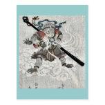 El mono de viajes al oeste por Kubo, Shunman Tarjetas Postales