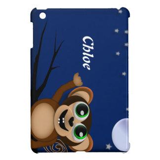 El mono del bebé personalizó la mini cubierta/la c
