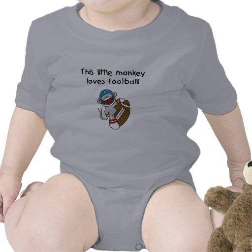El mono del calcetín ama las camisetas y los regal