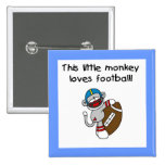 El mono del calcetín ama las camisetas y los regal pin