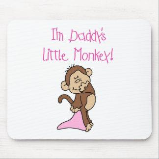 El mono del papá - camisetas y regalos rosados tapete de ratones