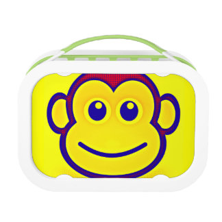 El mono fresco embroma la escuela conocida de la