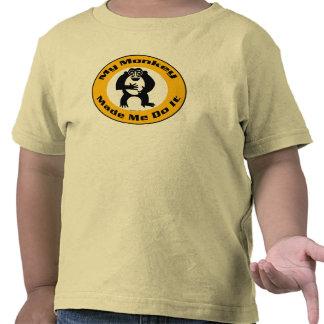 El mono me hizo K Camisetas