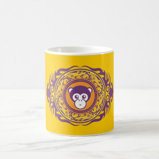 El mono púrpura taza clásica