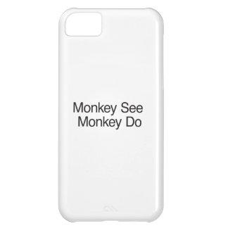 El mono ve el mono Do.ai Funda Para iPhone 5C