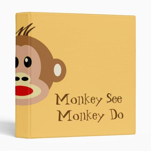El mono ve el mono hacer