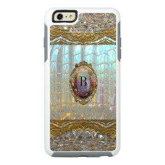 El monograma 6/6s elegante más Veraspee Funda Otterbox Para iPhone 6/6s Plus