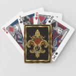 El monograma Y una de una opinión de la clase obse Baraja Cartas De Poker