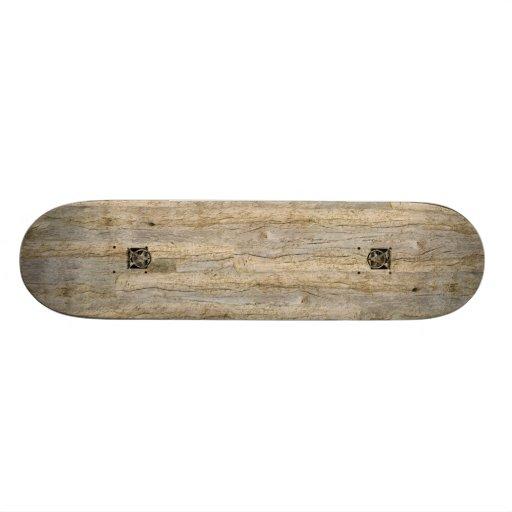 El monopatín de madera putrefacto extraño #1 de Fa Patin
