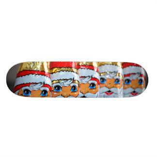 El monopatín de Santa en embalaje flexible Patines