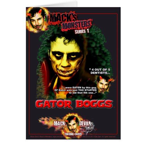 El Monstruo-Cocodrilo Boggs de Mack Tarjeton