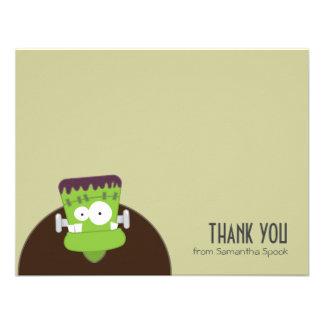 El monstruo de Frankenstein el plano le agradece Invitacion Personalizada