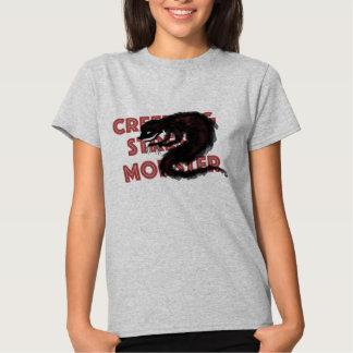 El monstruo de la tensión de arrastramiento camisas