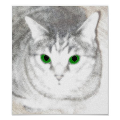 El monstruo de ojos verdes impresiones