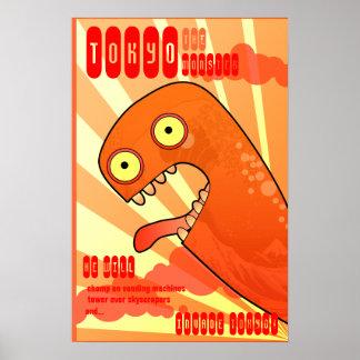El monstruo de Tokio Poster