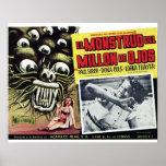 EL Monstruo Del millón de De Ojos Poster Póster
