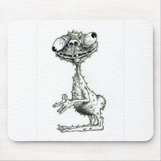El monstruo feo alfombrillas de raton