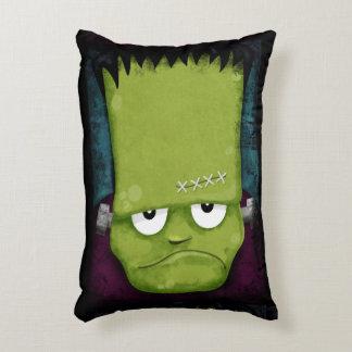 El monstruo Halloween de Frankenstein gruñón Cojín Decorativo