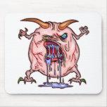 El monstruo lanza alfombrilla de raton