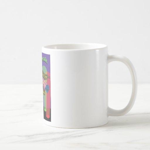 El monstruo taza de café