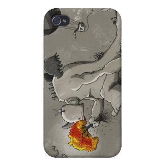 El monstruo triste destruirá el ambiente iPhone 4 funda